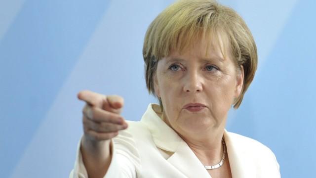 Merkel von 'Stalker' verfolgt