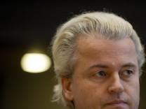 Prozess gegen niederländischen Rechtspopulisten Geert Wilders