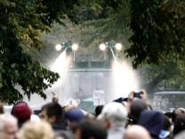 Landtag entscheidet ueber Untersuchungsausschuss zu 'Stuttgart 21'-Polizeieinsatz