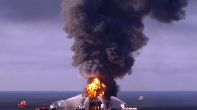 "USA Explosion der ""Deepwater Horizon"""