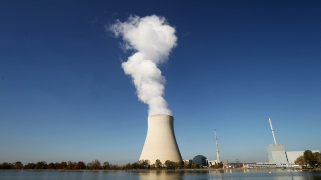Inside Nuclear Power Plant 'Isar 2'