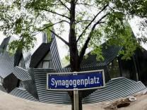 Unbekannte zuenden Brandsatz an Mainzer Synagoge