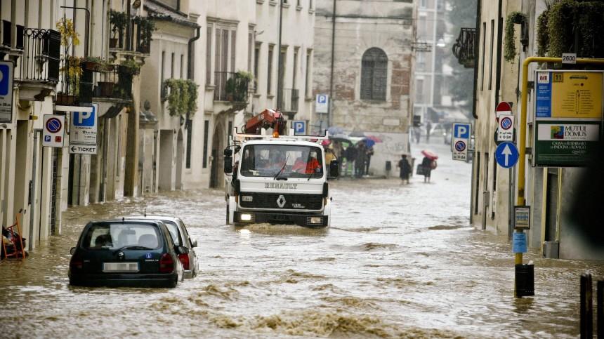 Hochwasser in Italien