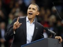 Vor Kongresswahl in USA - Obama in Ohio
