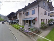 Oberstaufen Google Street View