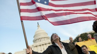 Tea Party Rallies At U.S. Capitol On Election Day