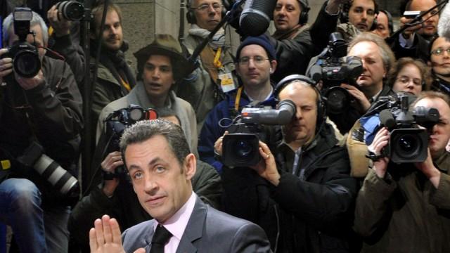 Bericht: Sarkozy setzt Agenten auf Journalisten an