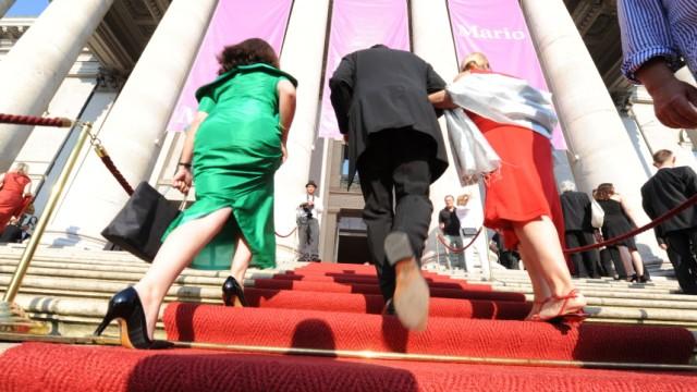 Tosca-Premiere bei Münchner Opernfestspielen, 2010