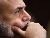 File photo of U.S. Federal Reserve Board Chairman Ben Bernanke testifying in Washington