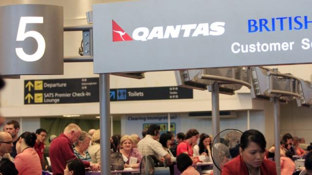 Qantas Nach Triebwerksbrand beim A380