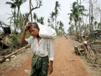 Drei Monate nach dem Zyklon in Birma