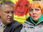 Claudia Roth Joachim Hermann Castor Demo