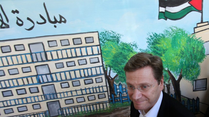 Westerwelle in Gaza