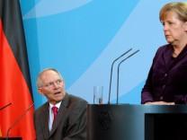 Schäuble Merkel zu G-20