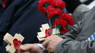 Sir Alistair Irwin Opens Edinburgh Garden of Remembrance