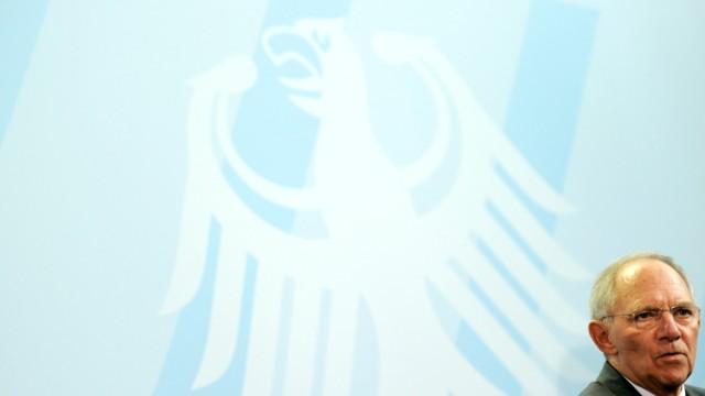 Merkel und Schaeuble geben Statement zu G20-Gipfel ab