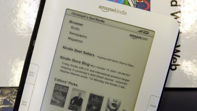 """Amazon bringt größeres ´Kindle""""-Lesegerät auf Weltmarkt"""