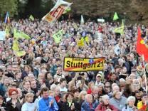 Stuttgart 21 - Demonstrationsteilnehmer