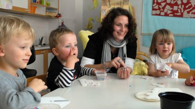 Kindergarten Erzieher-Mangel in München