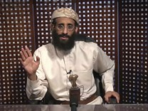 A still image of a video shows U.S.-born cleric Anwar al-Awlaki