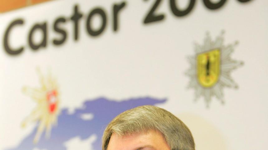 Pressekonferenz in Lüneburg zum Castortransport 2006