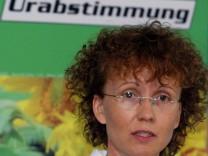 Gruenen-Geschaeftsfuehrerin schliesst Koalition mit Linkspartei aus