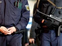 Polizeikontrolle auf Hauptbahnhof Hamburg