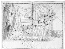 Argo Navis Schiff der Argonauten Uranometria