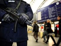 Sicherheitsvorkehrungen am Hauptbahnhof Dresden