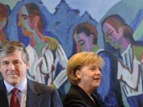 Kahrs fordert Aufklaerung zu Ackermann-Feier im Kanzleramt