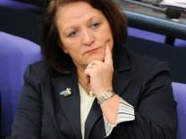 Bundestag - Leutheusser-Schnarrenberger