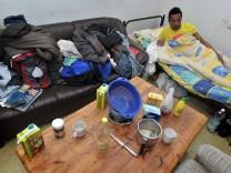 Umstrittene Asylbewerberunterkunft in Coburg