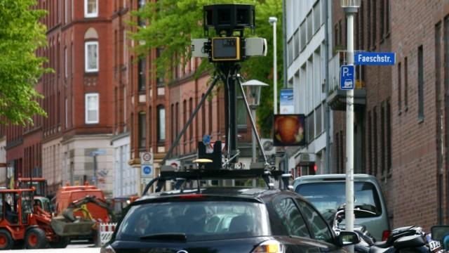 Street-View-Autos schnappten auch E-Mails auf