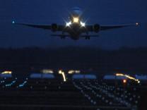 Deutscher Luftraum mit Ausnahmen gesperrt