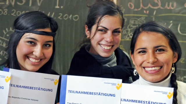 Integrationskurs 'Deutsch als Fremdsprache'