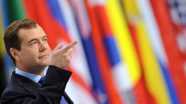 NATO-Russland-Gipfel - Medwedew