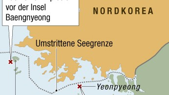 Yeonpyeong nordkoreanischer Beschuss