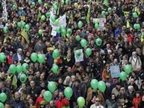 Demonstration gegen 'Stuttgart 21'
