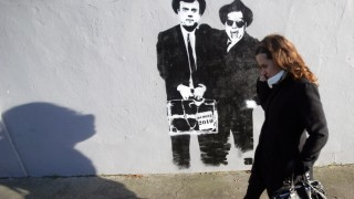 Finanzkrise in Irland - Graffiti