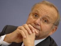 """""""Konjunkturprognosen sind nicht zu trauen"""", sagt Chef der Wirtschaftsweisen, Wolfgang Franz."""