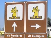 Auf Luthers Spuren nach Rom: Eine Pilgerreise auf dem Frankenweg