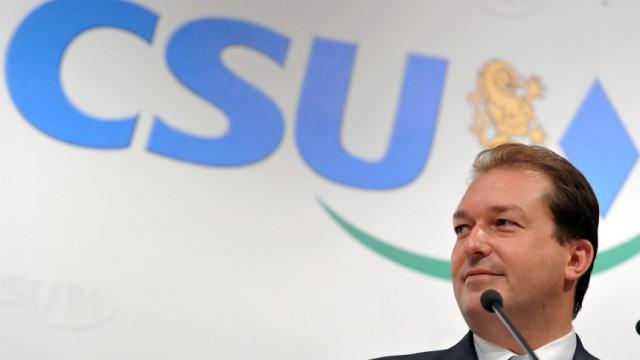 CSU-Pressekonferenz