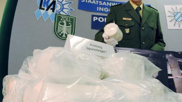 Größter Kokainfund seit mehr als zehn Jahren in Bayern
