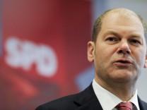 Scholz wird SPD-Spitzenkandidat fuer Hamburger Buergerschaftswahl