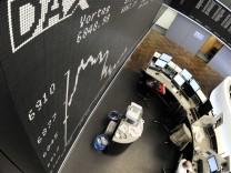 Der Dax hat, mit mehr als 6800 Punkten, zeitweise seinen Stand vor der Lehman-Pleite erreicht.