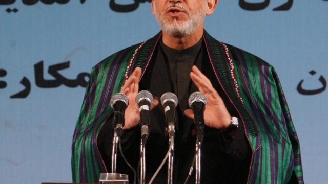 Afghanischer Präsident Hamid Karsai