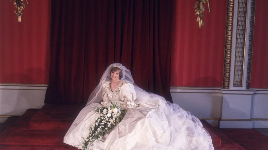 Das Brautkleid von Lady Di - Wie im Märchen - Gesellschaft ...