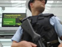 Sicherheit auf dem Flughafen München