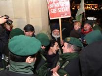 Tumult bei Demonstration gegen 'Stuttgart 21'