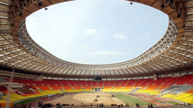 Russia to host 2018 Soccer World Cup